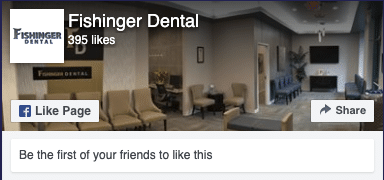 Fishinger Dental Facebook Link